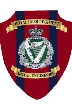 Royal Irish Regt Plaque